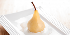 Orange and Vanilla Poached Pears